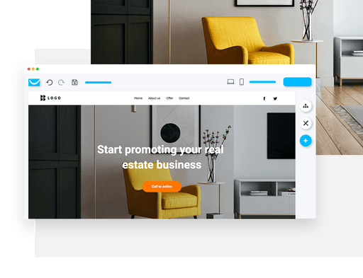 connect online through your website