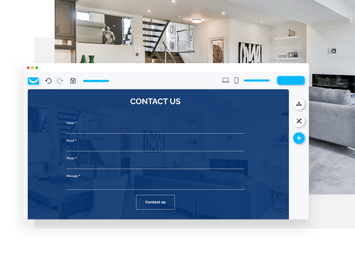 contact form on website builder