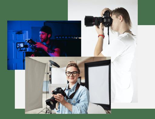 Erstelle eine Homepage für dein Fotografie-Geschäft