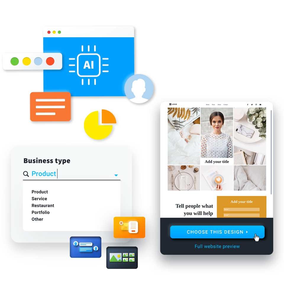Шаблоны для малого бизнеса в конструкторе сайтов GetResponse