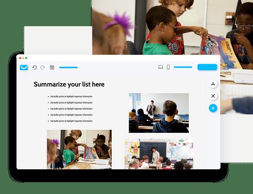 post homework on your school website