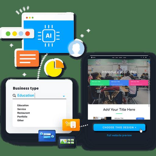 ai website creation for educators