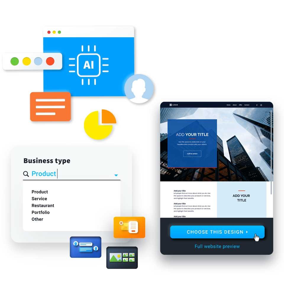 Шаблоны сайтов юридической компании в конструкторе сайтов GetResponse