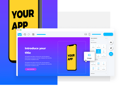 professional built website