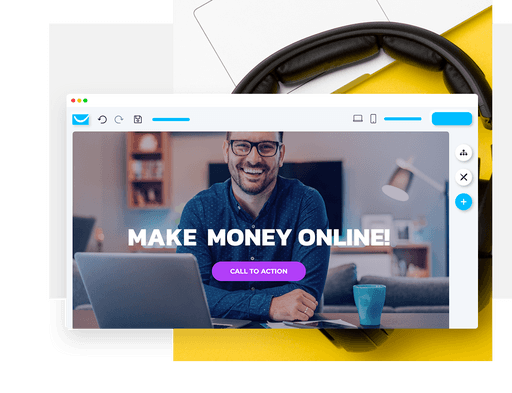 affiliate website home page