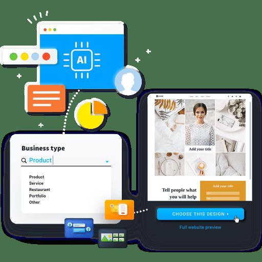 Erstelle deine Unternehmen-Seite mithilfe der KI